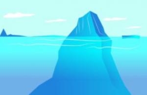 persoonlijke ontwikkeling ijsberg